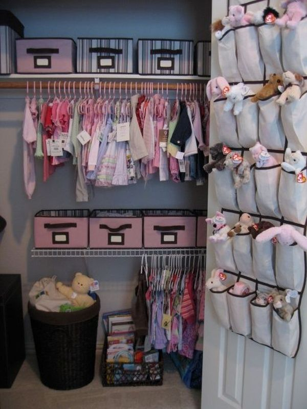 Baby Room Organization Clothes