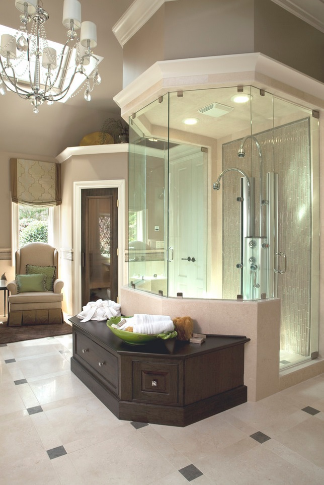 Incredible Luxurious Stand Up Showers