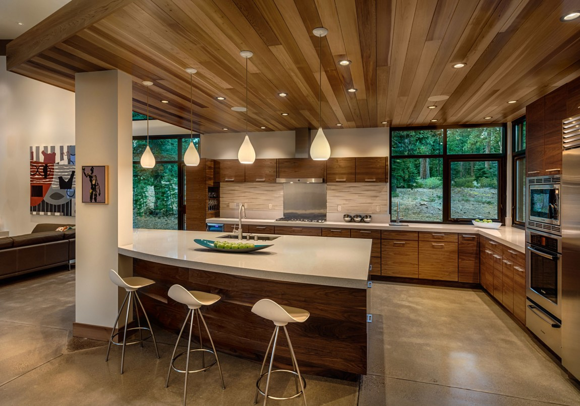 Modern Cabin Like Retreat Rules The Californian Landscape