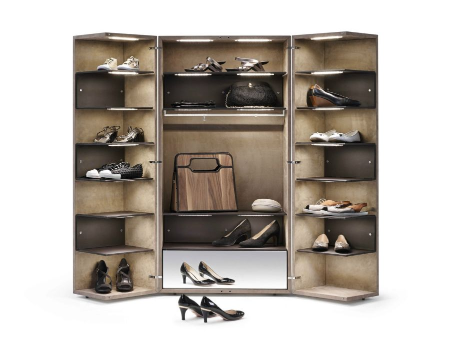storage walk shoe shelves furniture bedroom out containers wire organizer racks ideas rack pull