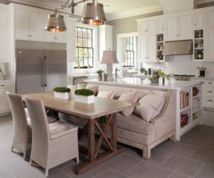 how a kitchen table with bench seating can totally complete your home ways of integrating corner kitchen tables in your d  cor  rh   homedit com