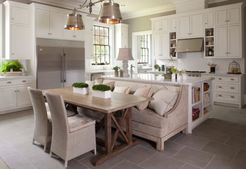How A Kitchen Table With Bench Seating Can Totally Complete Your Home
