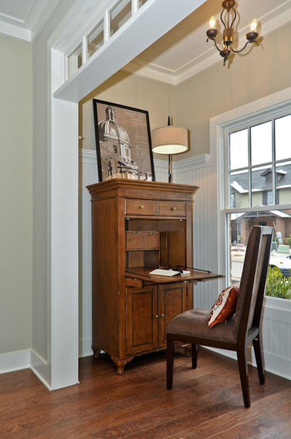 Secretary Desks The Tallest Heaviest And Most Imposing Of Them All