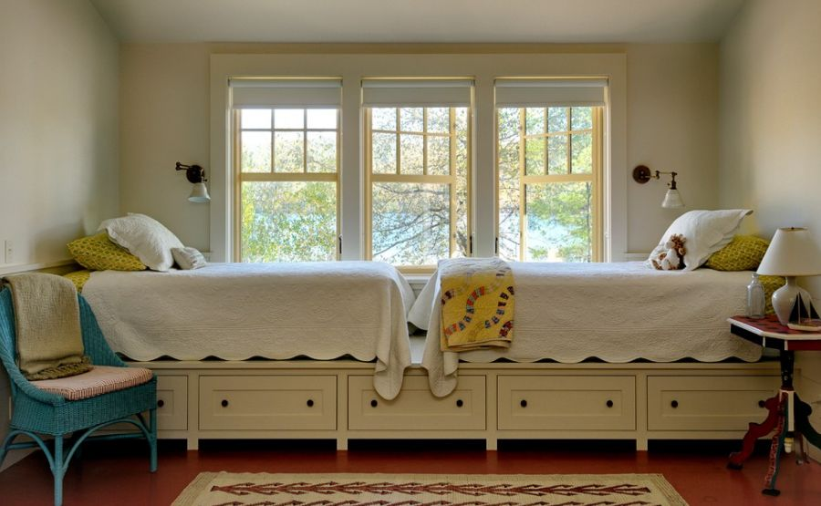 Make The Most Of Your Bedroom With Hidden Bed Drawers