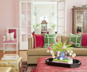 Romantic, Beautiful Blushing Rooms