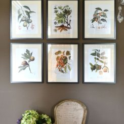Delightful Botanical Prints Sprinkled Around The House Awesome Design