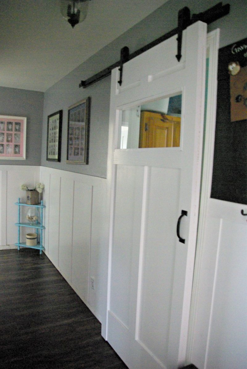 DIY Barn Door – Space Saving And Creative