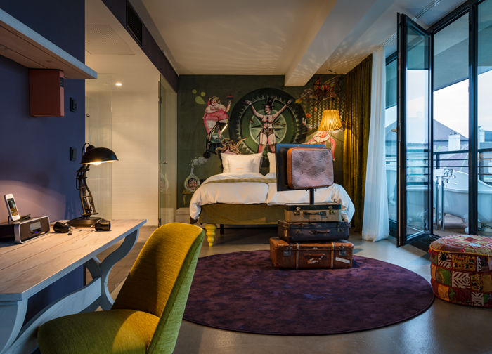 The 25hours hotel brings the circus and theater to vienna for Design hotel 25 hours vienna