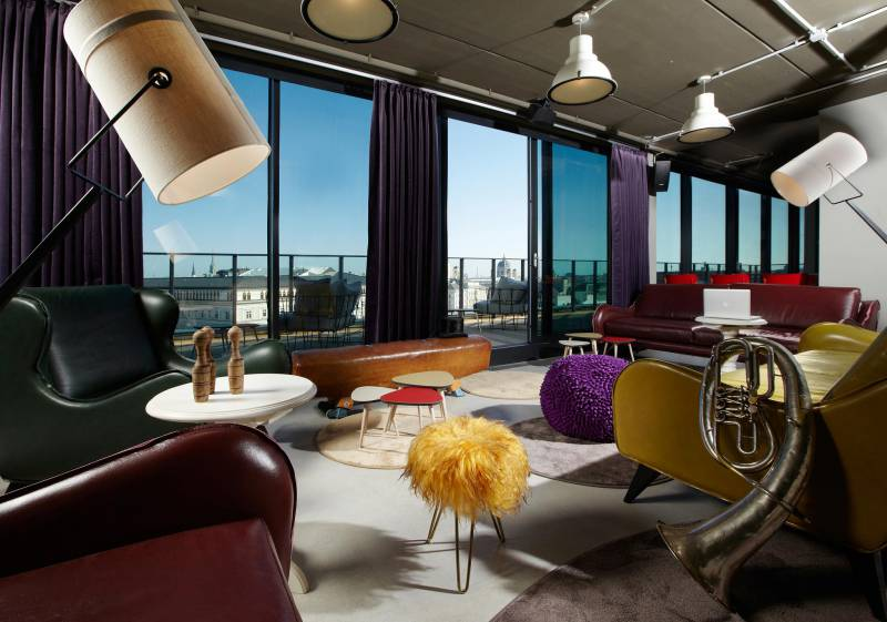 the 25hours hotel brings the circus and theater to vienna