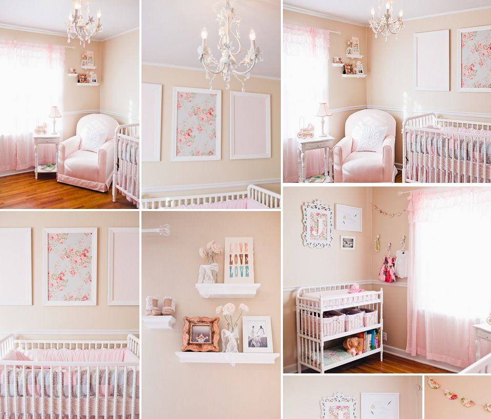 10 shabby chic nursery design ideas Nursery wall ideas