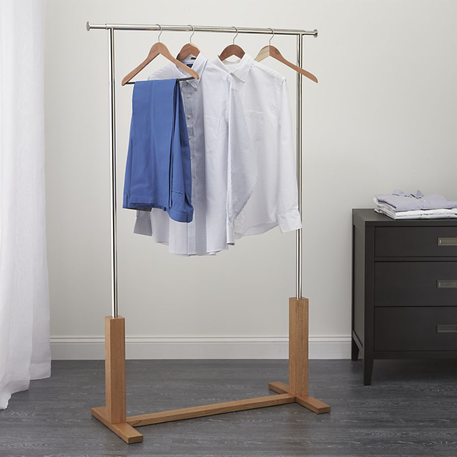 & Keep Your Wardrobe in Check With Freestanding Clothing Racks