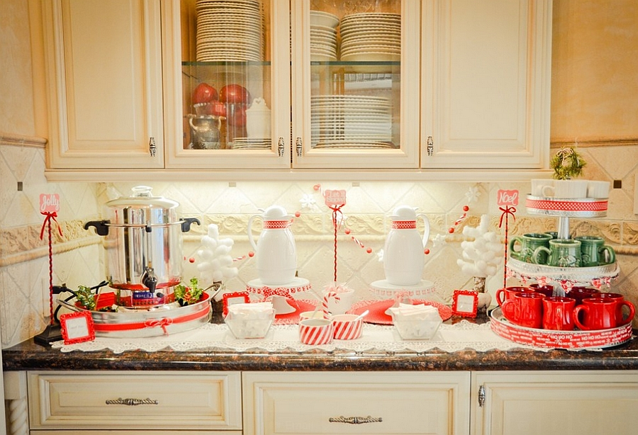 23 Christmas Party Decorations That Are Never Naughty Always Nice - Home-party-decoration-ideas