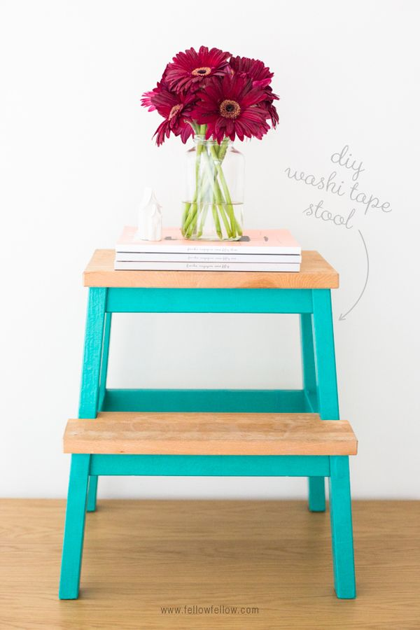 Groovy Diy Makeovers That Transform The Ikea Bekvam Step Stool Creativecarmelina Interior Chair Design Creativecarmelinacom