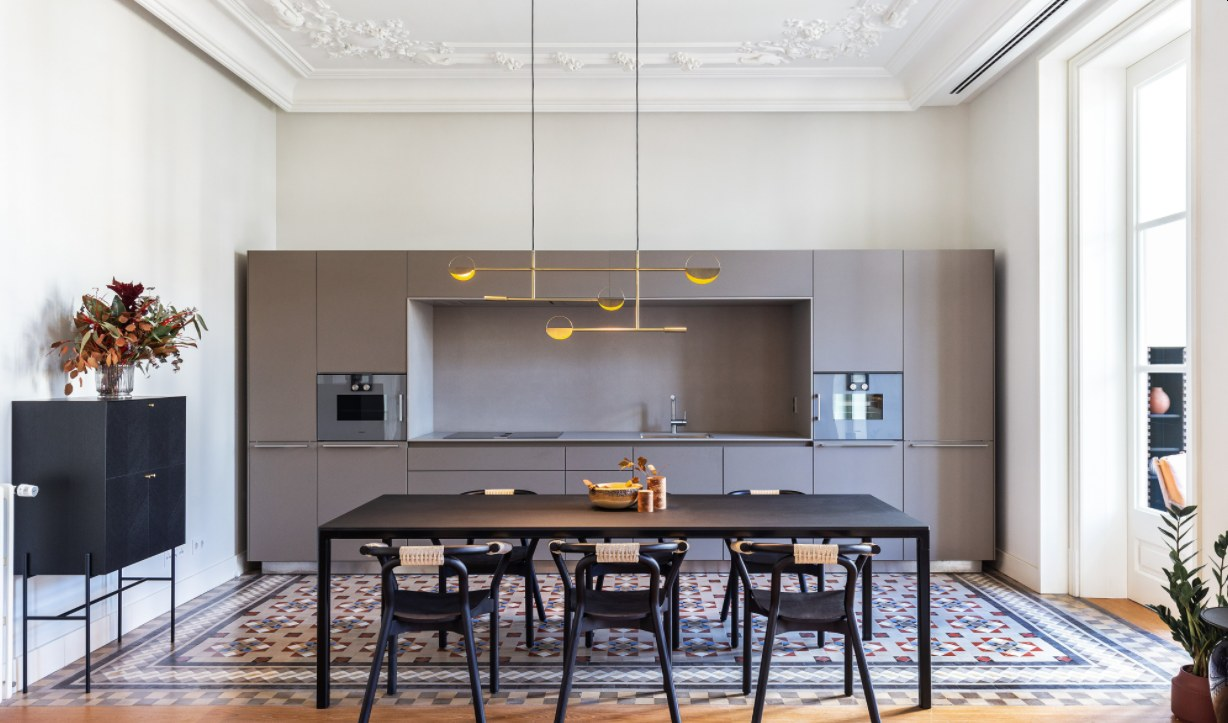 Combine the Kitchen and Dining Area into a Single Large Space