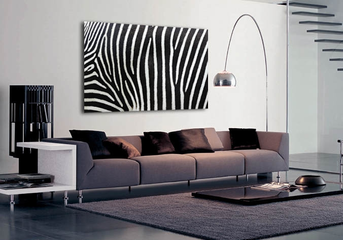 Zebra Canvas Art.