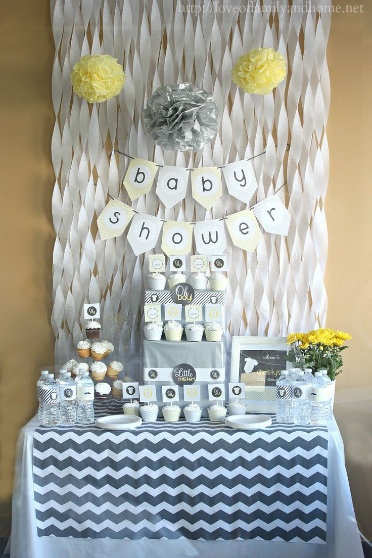 Guide to hosting the cutest baby shower on the block for Baby shower decoration set
