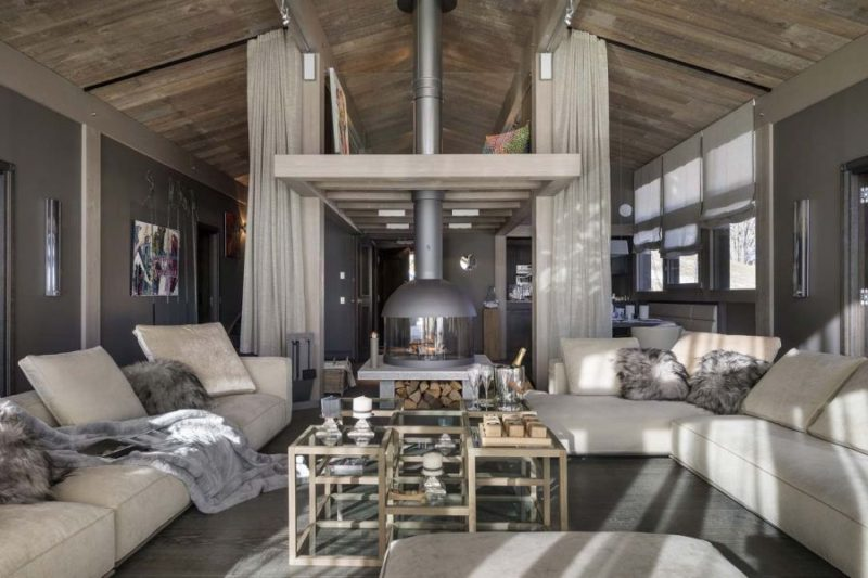 Luxury Chalet Turns The French Alps Into The Perfect Ski Retreat