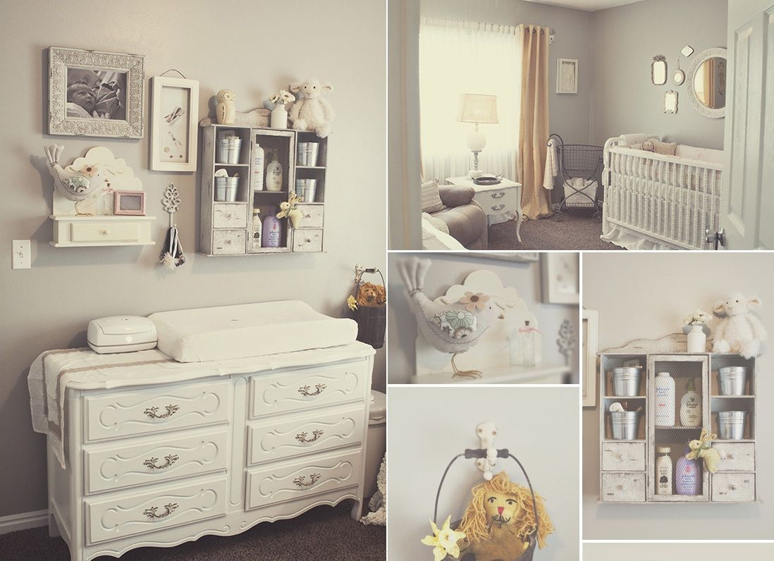 Shabby Chic Colors For Furniture : Shabby chic nursery design ideas