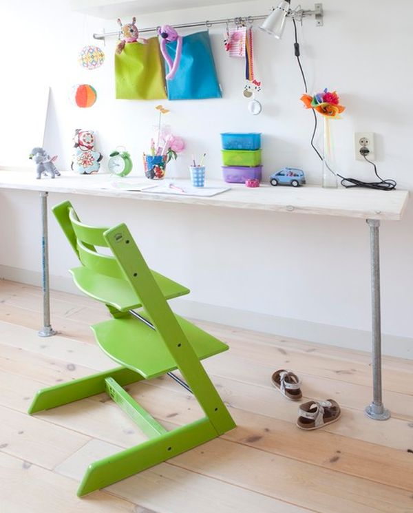Trendy Desk Designs For The Childrens Rooms