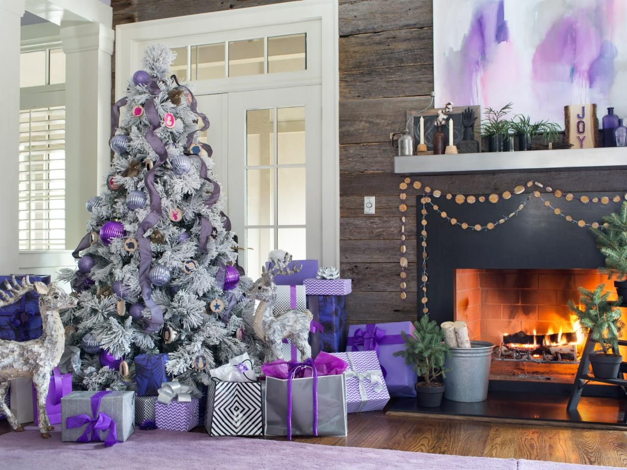 Lovely Hgtv Holiday Decorating Ideas Part - 7: Last Minute Tree-Decorating Ideas For An Enchanting Christmas