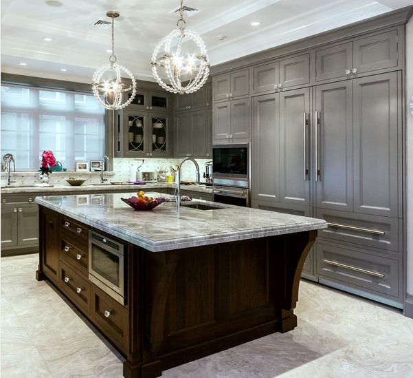 View In Gallery The Color Of Cabinets Can Match Marble Countertops