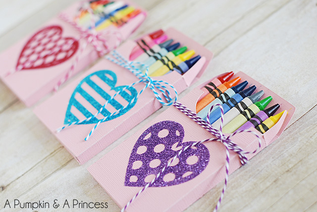 25 diy valentines day gifts for the men women children in your life 8 crayon boxes solutioingenieria Image collections