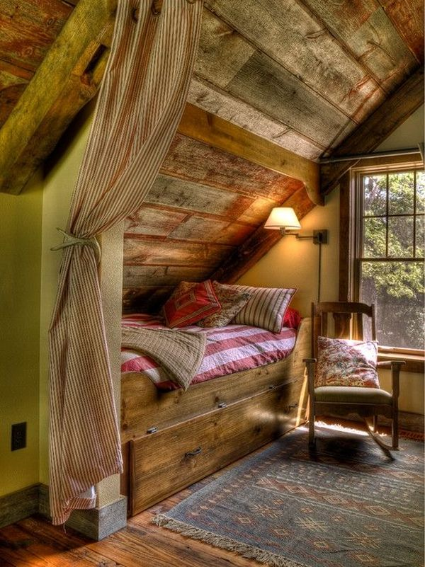 View in gallery. How To Design A Rustic Bedroom That Draws You In