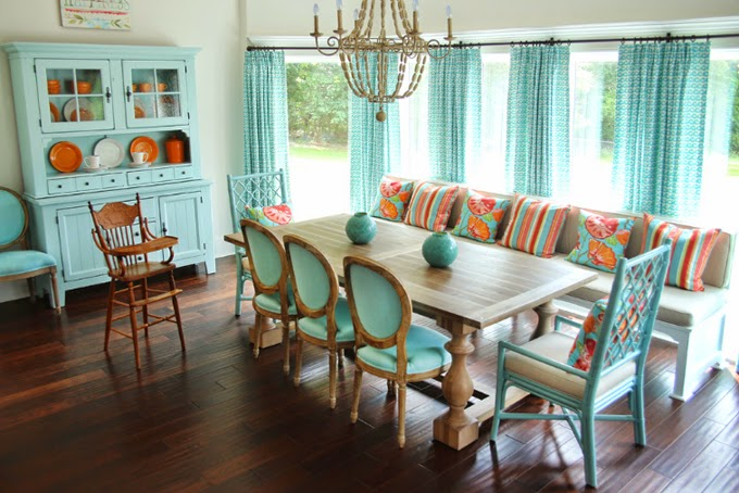 Turquoise Dining Room Ideas Part - 18: View In Gallery