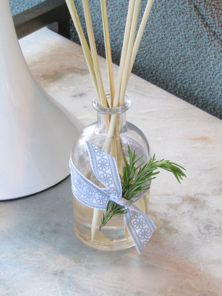 Diy Essential Oil Reed Diffuser