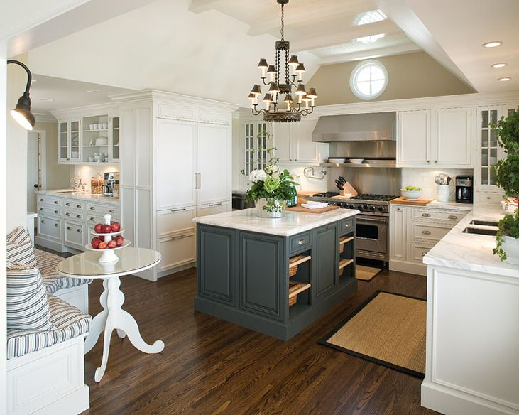 Colors For A Kitchen 20 stylish ways to work with gray kitchen cabinets