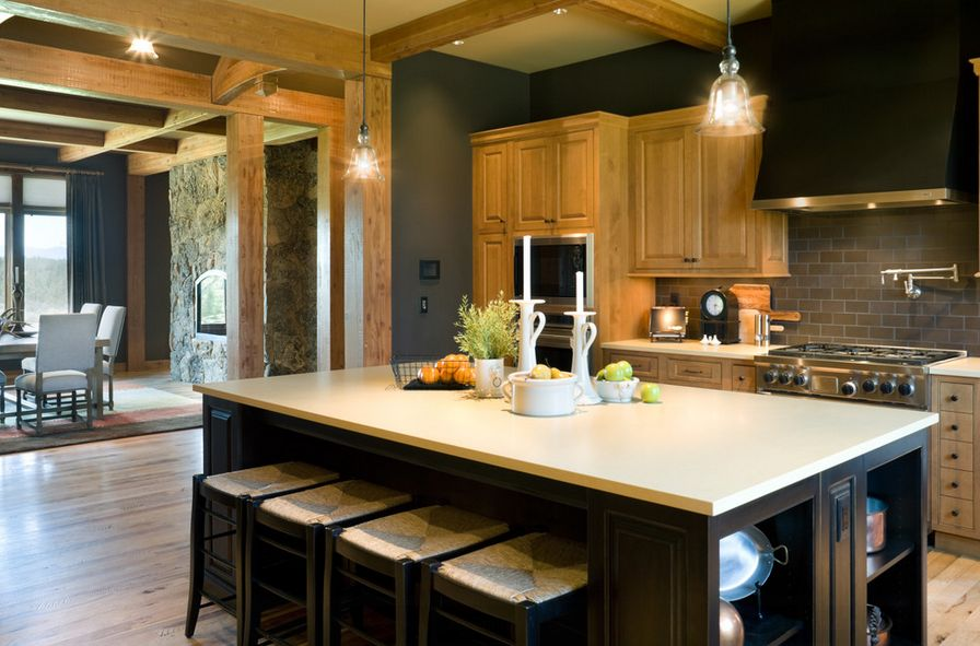 Use light shades for a bright and open look 20 Stylish Ways To Work With Gray Kitchen Cabinets