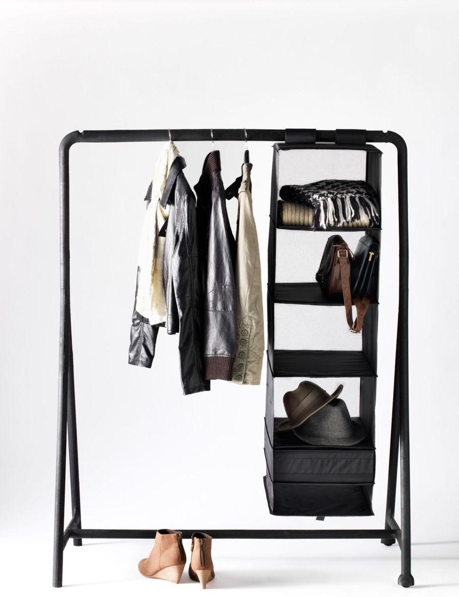 Keep your wardrobe in check with freestanding clothing racks for Ikea coat rack stand