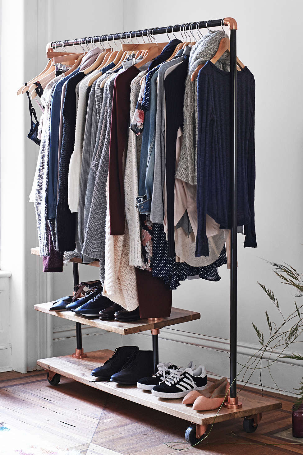 Good Keep Your Wardrobe In Check With Freestanding Clothing Racks
