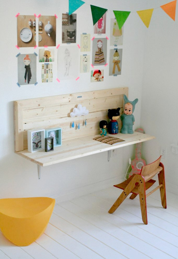 Trendy Desk Designs For The Children S Rooms