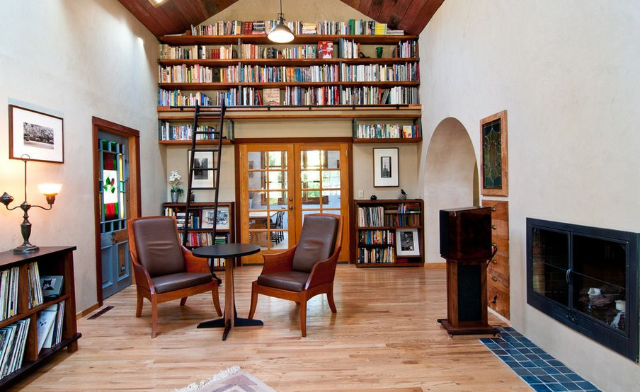 & Inspiring Ways Of Using Library Ladders In The House