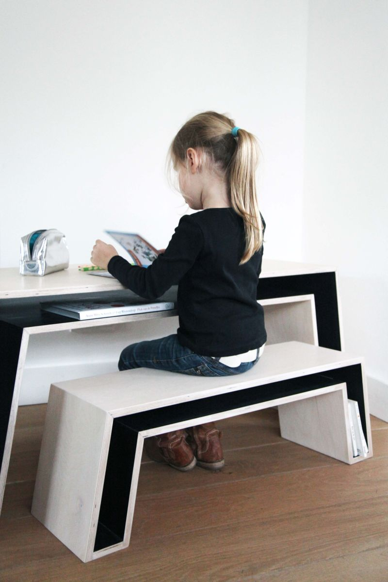 Trendy Desk Designs For The Children\u0027s Rooms