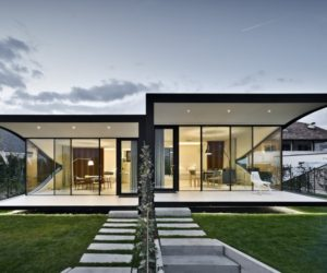 Mirror Image – A Pair Of Holiday Homes Amidst Apple Orchards