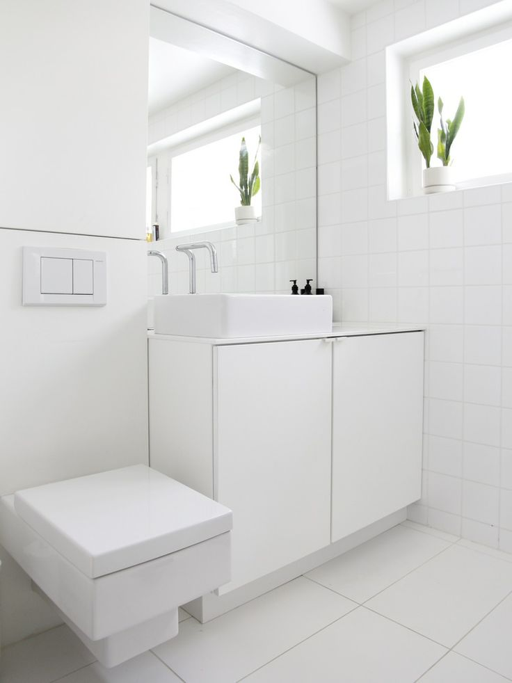 Bathroom Ideas White Tub : White bathrooms can be interesting too fresh design ideas
