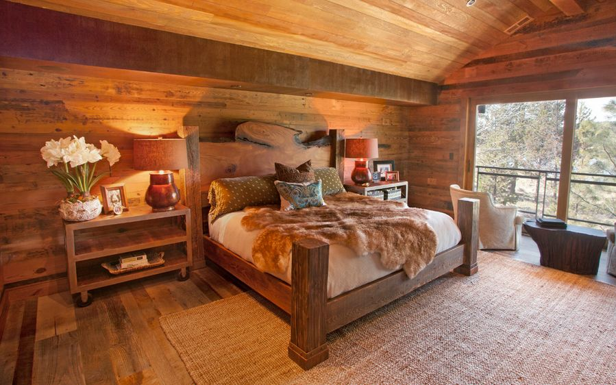 How To Design A Rustic Bedroom That Draws You In - The natural bedroom