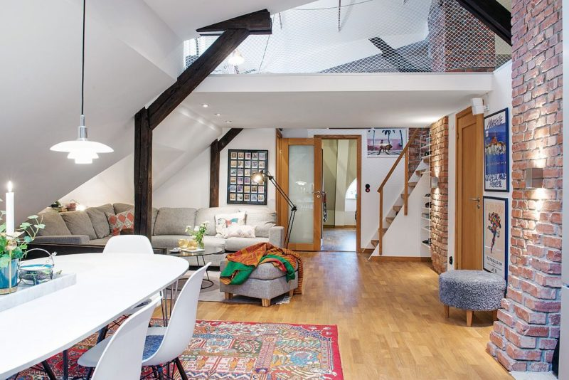 Friendly Nordic Duplex With A Chill Out Ambiance