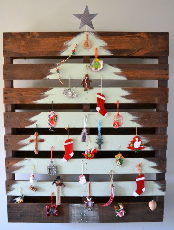 top 10 wall christmas trees for small spaces - Small Decorations For Christmas