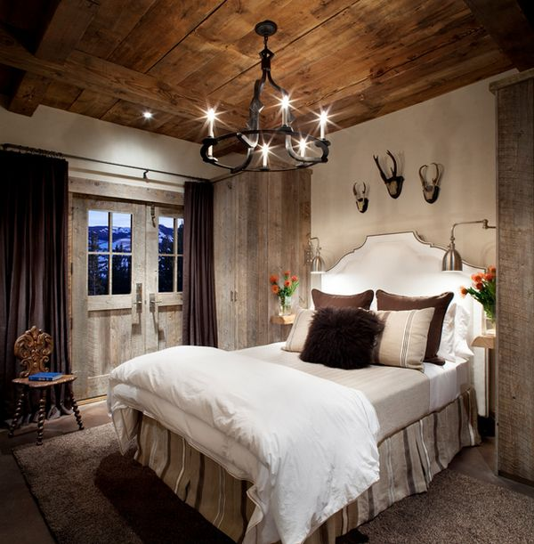 lighting for bedroom. How To Design A Rustic Bedroom That Draws You In Lighting Ideas  Lilianduval