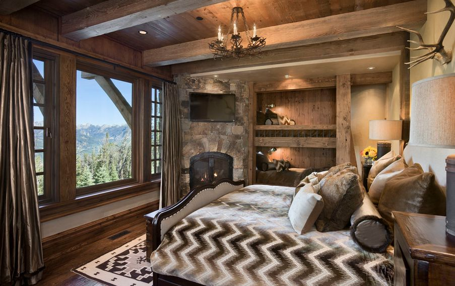 How to design a rustic bedroom that draws you in for Idee di ranch aggiuntive