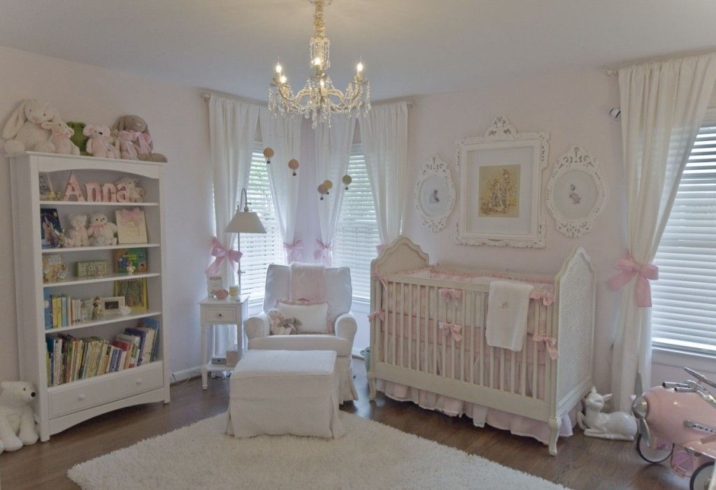 10 shabby chic nursery design ideas. Black Bedroom Furniture Sets. Home Design Ideas