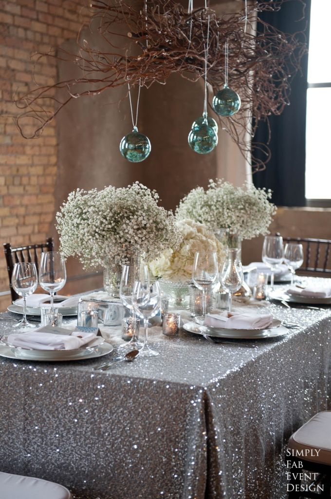 10 color schemes for a sparkling new years eve party