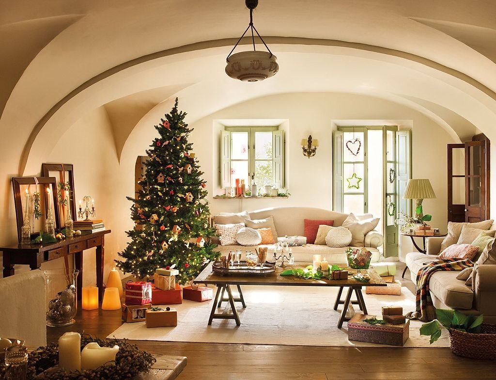 Christmas Interior Design Last Minute Treedecorating Ideas For An Enchanting Christmas