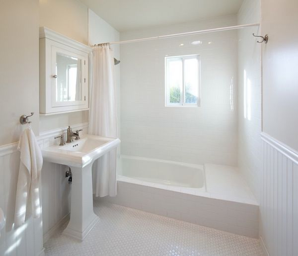 White bathrooms can be interesting too fresh design ideas for Bathroom designs 6 x 10