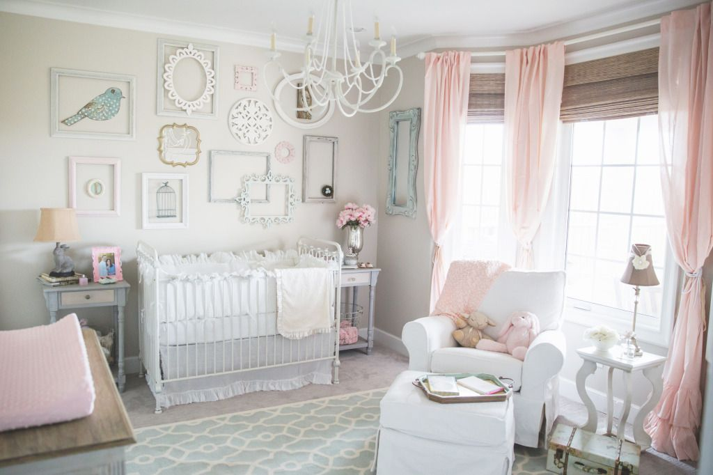 10 shabby chic nursery design ideas Baby Room Design Ideas