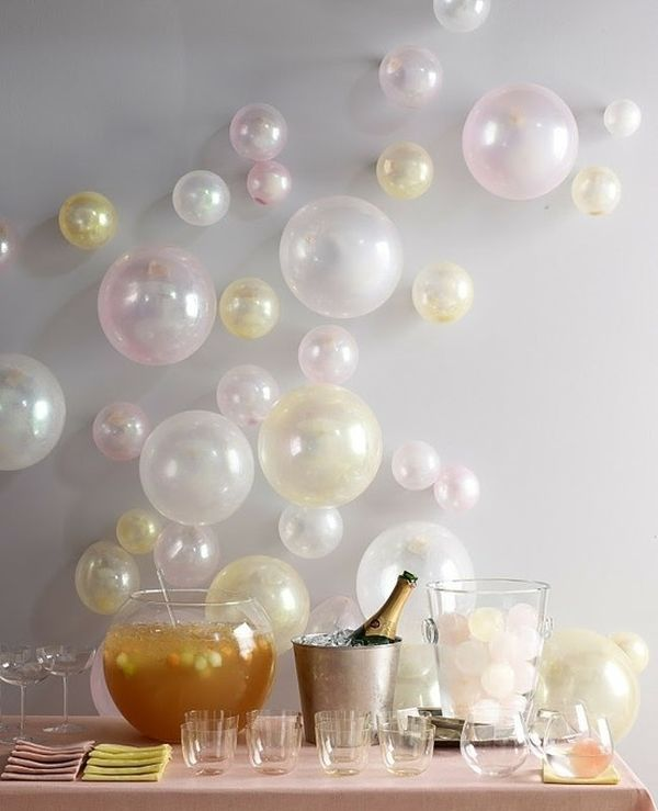 Superb Bubbly Balloons.