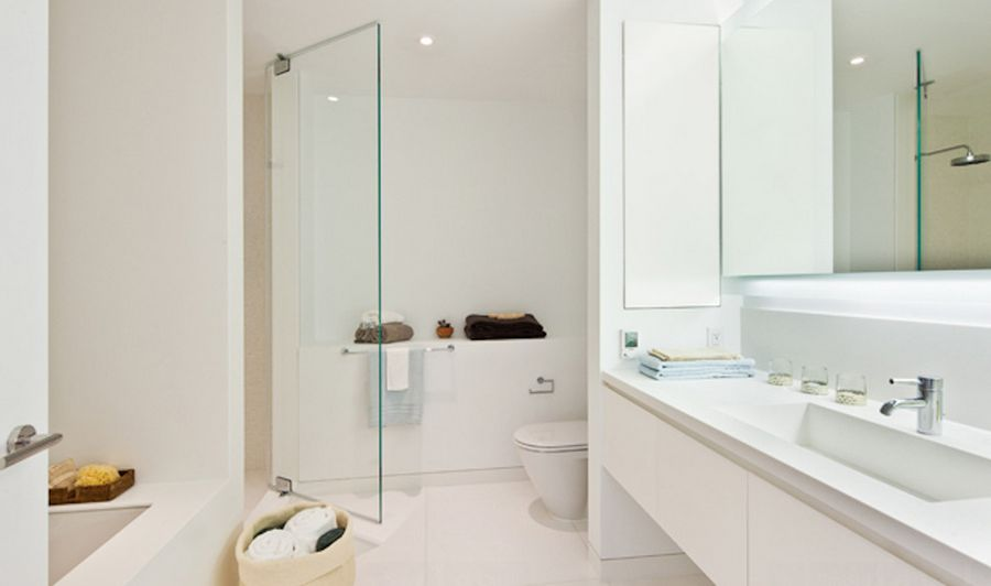 White Bathroom Interior Design white bathrooms can be interesting too – fresh design ideas